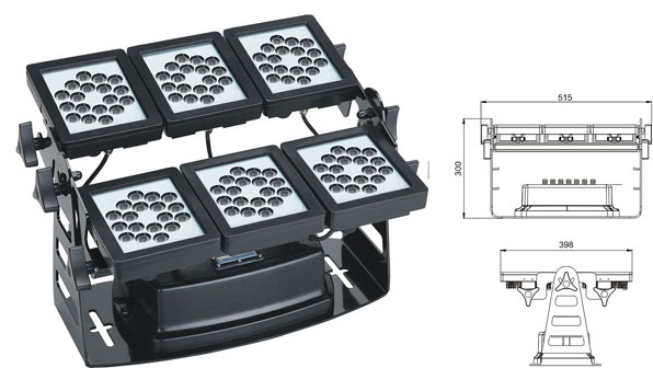 Led drita dmx,e udhëhequr nga puna,SP-F310A-52P, 150W 1, LWW-9-108P, KARNAR INTERNATIONAL GROUP LTD