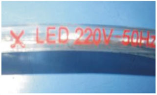 Guangdong zavodu idarə etdi,elastik şerit,110 - 240V AC neon flaş işıqlı LED 11, 2-i-1, KARNAR INTERNATIONAL GROUP LTD