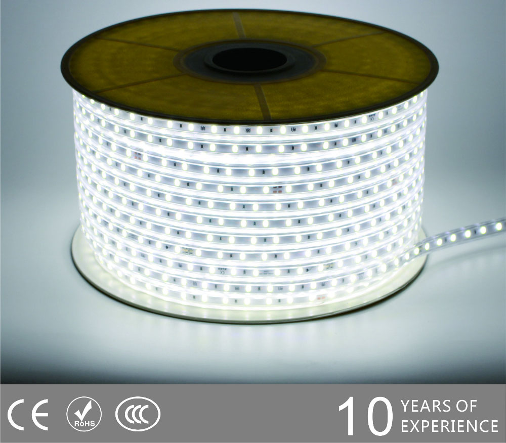 Guangdong udhëhequr fabrikë,LED dritë litar,110V AC Nuk ka Wire SMD 5730 LEHTA LED ROPE 2, 5730-smd-Nonwire-Led-Light-Strip-6500k, KARNAR INTERNATIONAL GROUP LTD