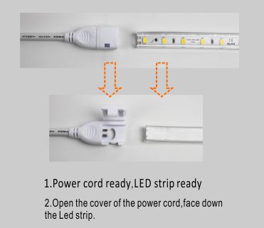 Led drita dmx,LED dritë strip,240V AC Nuk ka Wire SMD 5730 LEHTA LED ROPE 5, install_1, KARNAR INTERNATIONAL GROUP LTD