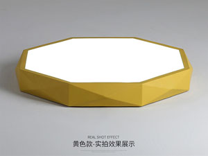 Guangdong zavodu idarə etdi,Macaronlar rəng,48W Kvadrat tavan yüngülliyi 7, yellow, KARNAR INTERNATIONAL GROUP LTD