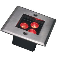 Led drita dmx,Dritat me burime LED,3W Square Buried Light 5, 3x1w-105.105.60, KARNAR INTERNATIONAL GROUP LTD