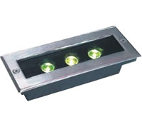 Led drita dmx,Drita LED rrugë,24W Sheshi i Buried Light 6, 3x1w-120.85.55, KARNAR INTERNATIONAL GROUP LTD