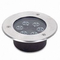 Led drita dmx,Dritat me burime LED,3W Square Buried Light 3, 6x1W, KARNAR INTERNATIONAL GROUP LTD